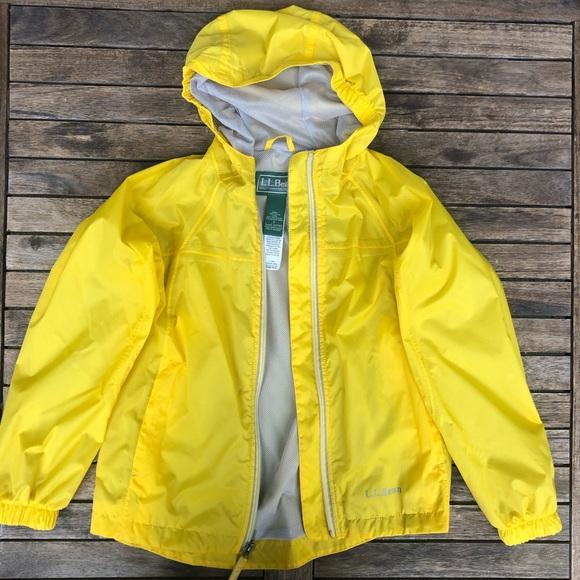 3e1d5ca67 L.L. Bean Jackets & Coats | New Ll Bean Kids Discovery Rain Jacket ...